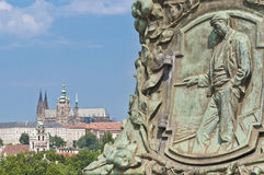 Legion Bridge at Prague Stock Image