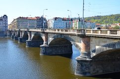 Legion bridge, Prague Stock Photography