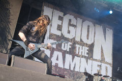 Legion of the Damned at Masters of Rock 2015 Royalty Free Stock Photos