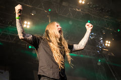 Legion of the Damned at Masters of Rock 2015 Royalty Free Stock Photo