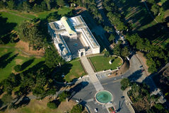 Legion of Honor from the air Stock Photo