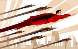 Legion of superheroes Stock Images