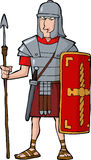 Legionario romano stock de ilustración