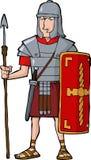 Legionario romano Fotografie Stock