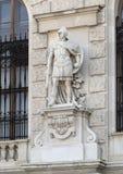 Legionario romano por Wilhelm Seib, el Burg o New Castle, Viena, Austria de Neue imágenes de archivo libres de regalías
