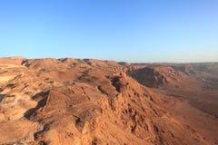 Legionary Roman Camp F near Masada Stock Image