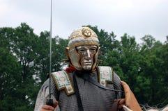 Legionary romano con la mascherina di parata Immagini Stock Libere da Diritti