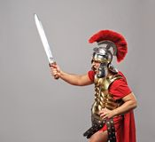 Legionary soldier Stock Images