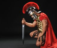 Legionary Soldier Royalty Free Stock Image