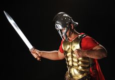 Legionary soldier Royalty Free Stock Photography