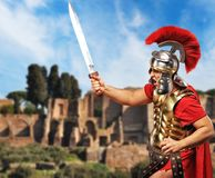 Legionary soldier Stock Photography