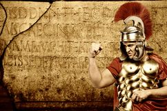 Legionary soldier Royalty Free Stock Photos