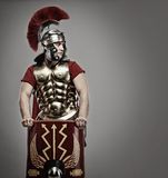 Legionary soldier Royalty Free Stock Photo