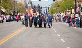 Legione marzo degli Stati Uniti fotografia stock