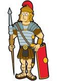 legionista rzymski royalty ilustracja