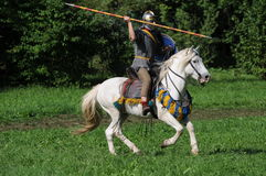 Legionnaire On The Horse Stock Photography