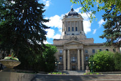 The Legislative Assembly of Winnipeg Royalty Free Stock Photos