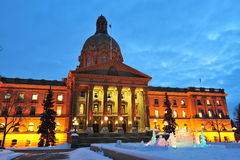 Legislative building night scene Stock Photo