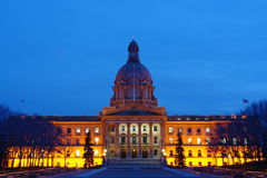 Legislative building nightshot Stock Photo