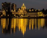 Legislative Building in Victoria Royalty Free Stock Photos