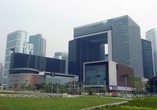 The legislative council complex, hong kong Stock Photography