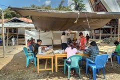 Legislative elections held in Lempo village. Tana toraja Stock Photography