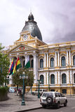 Legislative Palace, the Seat of the Government in La Paz, Bolivia Royalty Free Stock Photos