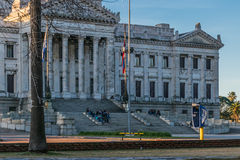 Legislative Palace of Uruguay in Montevideo Royalty Free Stock Images