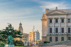 Legislative Palace of Uruguay in Montevideo Royalty Free Stock Photography