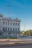 Legislative Palace of Uruguay in Montevideo Stock Photo