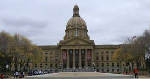 Legislatura de Alberta, Canadá con los corredores 4K de la caridad