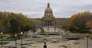 Legislatura de Alberta, Canadá en el otoño 4K