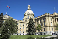 Legislatura de Alberta, Edmonton Fotografia de Stock