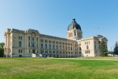Legislatura de Saskatchewan Fotos de archivo