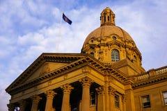 Legislatura del gobierno que construye Edmonton Fotos de archivo libres de regalías