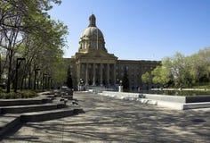 Legislatura dell'Alberta fotografia stock libera da diritti
