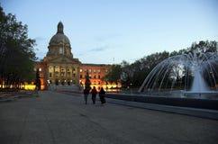 Legislatura dell'Alberta, Edmonton fotografia stock libera da diritti