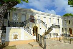 Legislature Building of U.S. Virgin Islands, Charlotte Amalie Royalty Free Stock Photos
