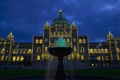 Legislature Buildings BC Stock Image