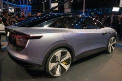 legitimation 2017 för VW Shanghai för auto show Arkivfoton