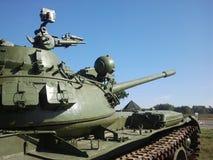 "Legki zbiornika T-64 w sÅ 'dzieÅ oneczny "" Obrazy Royalty Free"