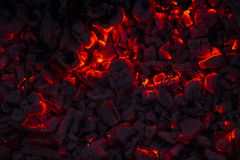 Legna da ardere bruciante nel camino Fotografia Stock Libera da Diritti