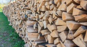 Legna da ardere dalla Stiria Fotografia Stock Libera da Diritti