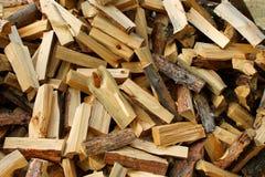 Legna da ardere del pino Fotografie Stock