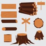Legname dell'albero Di legno Immagine Stock Libera da Diritti