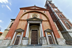 In  the legnano   old     tower sidewalk italy  lombardy   fount Stock Image