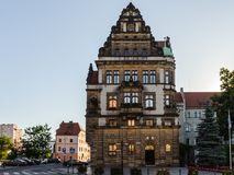Architecture  in Legnica. Poland. LEGNICA, POLAND - JUN 16, 2014: City Hall of   Legnica in Poland. Legnica is a former capital of the the Legnica Voivodeship  ( Stock Images