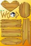 Legno. illustrazione di stock
