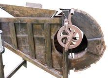 Legno antico di riseria dell'attrezzatura Immagine Stock Libera da Diritti