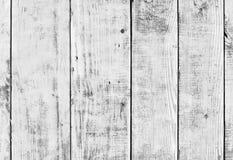 Legno bianco o pavimento o parete d'annata di legno della plancia fotografie stock